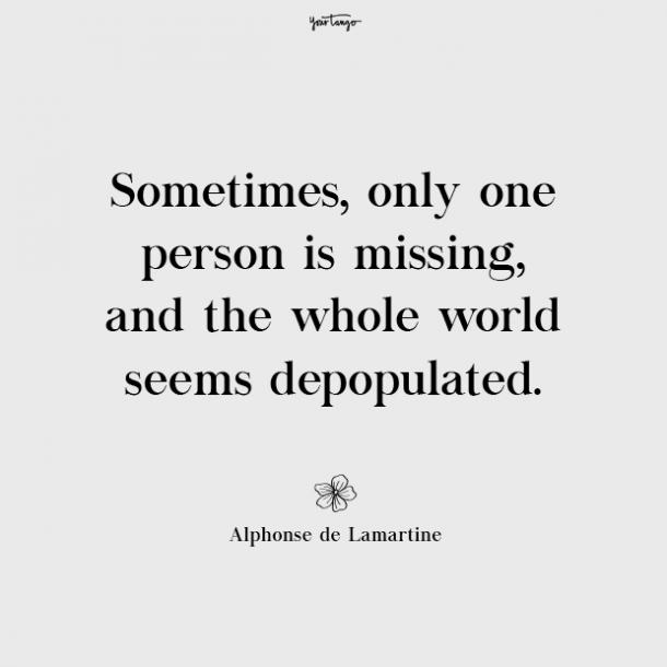 Alphonse de Lamartine missing mom quotes