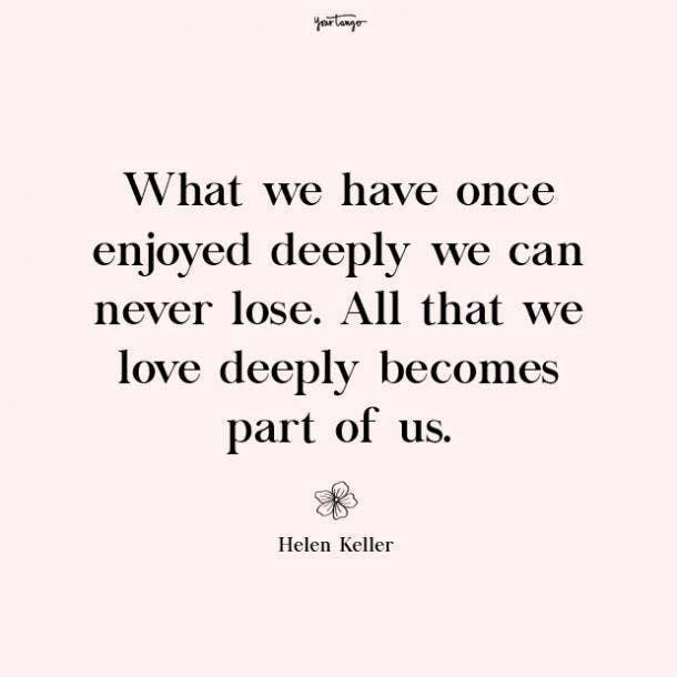 Helen Keller missing mom quotes