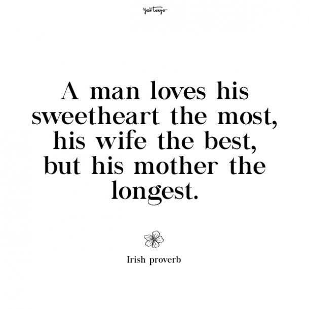 Irish proverb missing mom quotes
