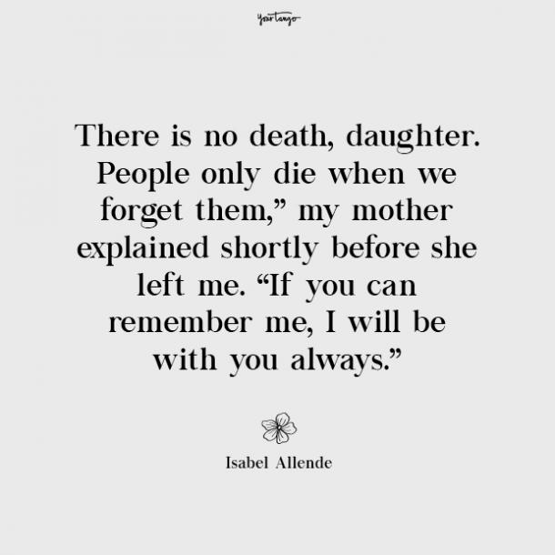 Isabel Allende missing mom quotes