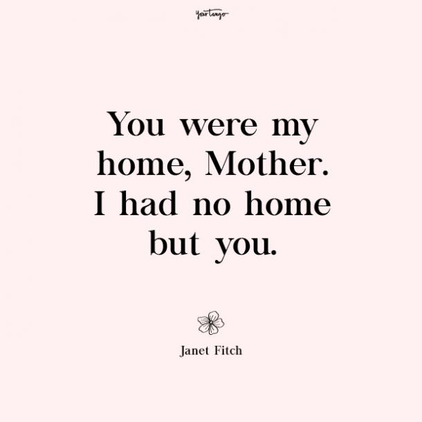 Janet Fitch missing mom quotes