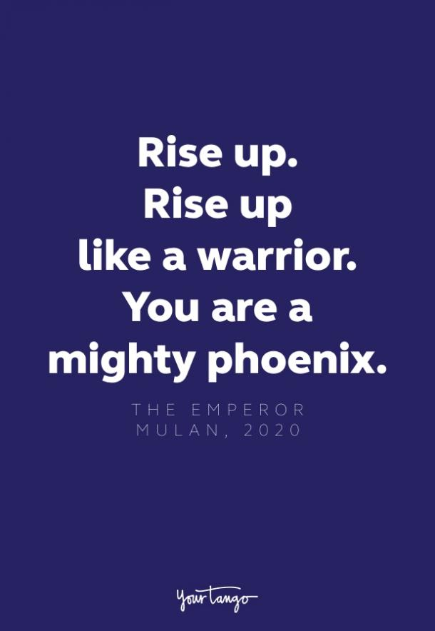 the emperor quote from mulan