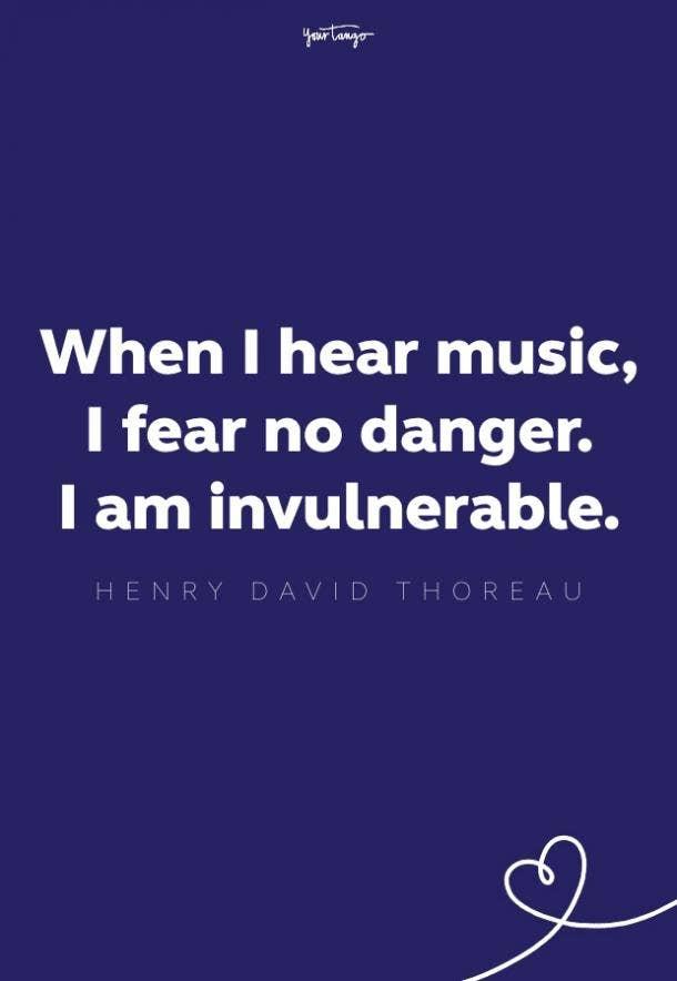 henry david thoreau music quote