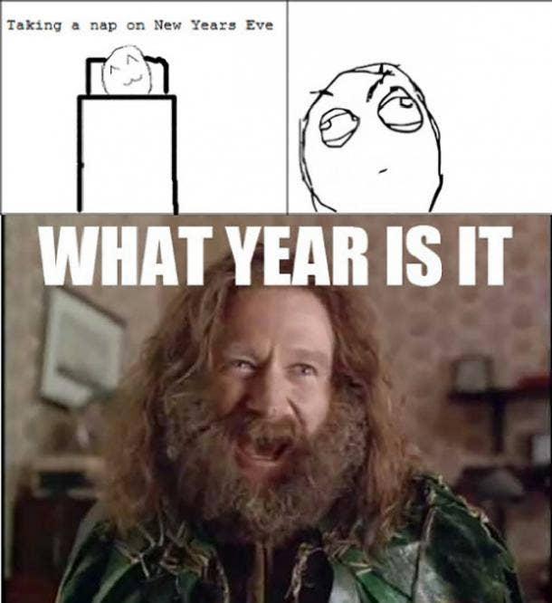 nap funny new year meme