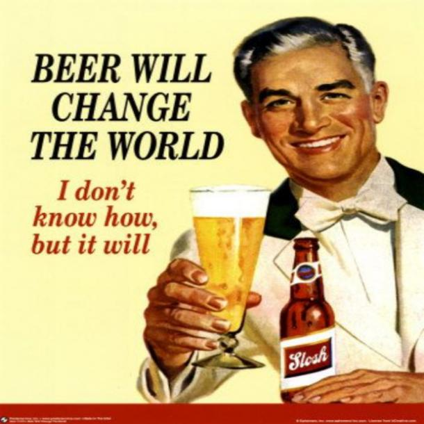 beer memes beer will change the world