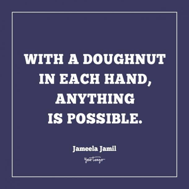 jameela jamil donut quotes
