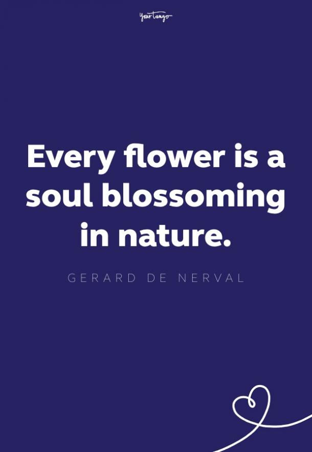 gerard de nerval quote about nature