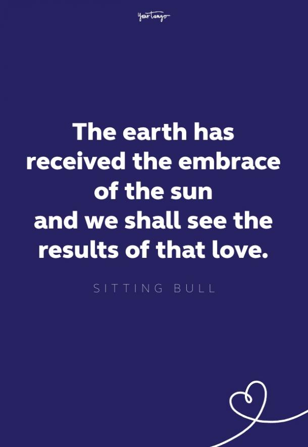 sitting bull quote about nature