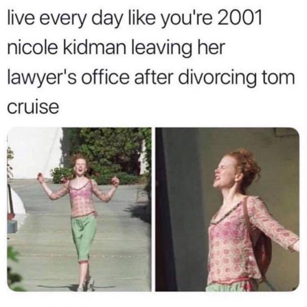 nicole kidman divorce meme