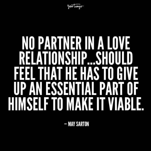 may sarton unhappy relationship quotes