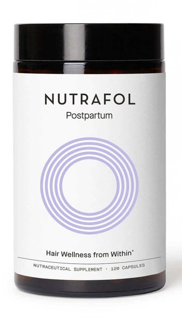 nutrafol postpartum hair growth