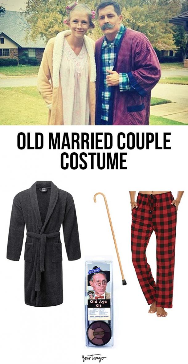old married couple last minute halloween costumes