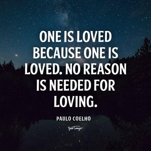 paulo coelho i love you quote