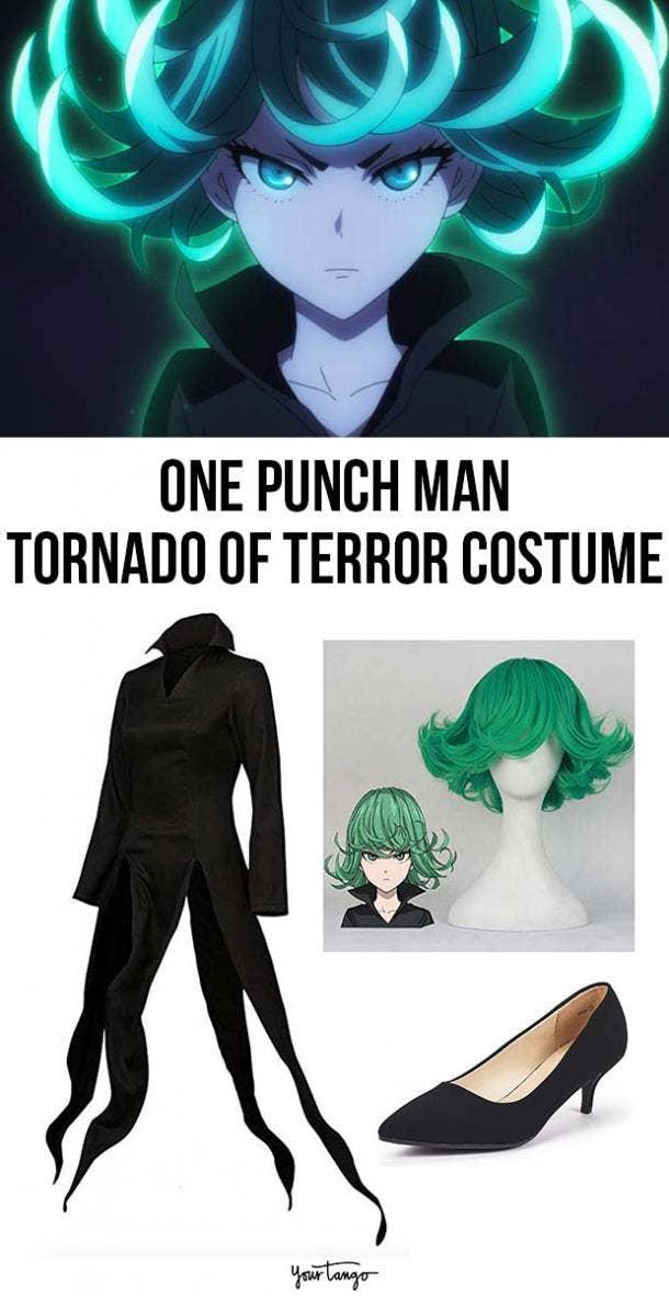 Tatsumaki Tornado of Terror One Punch Man Halloween Costume