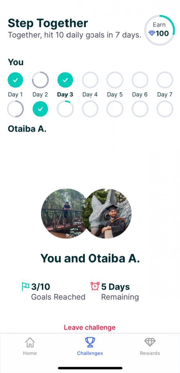 optimity fitness app for couples