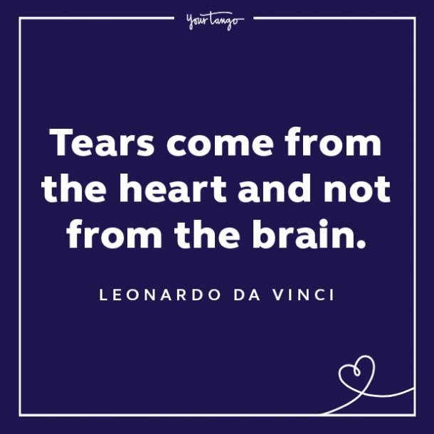Leonardo da Vinci sadness quotes