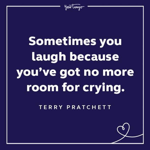 Terry Pratchett sadness quotes