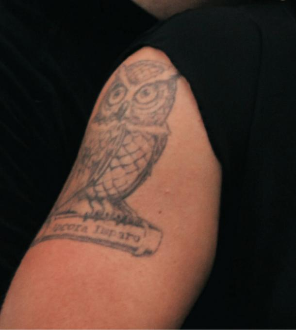owl tattoo idea for women