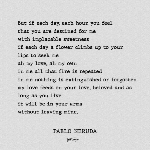if you forget me best pablo neruda love poems