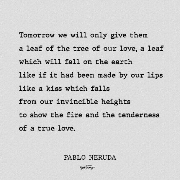 best pablo neruda love poems
