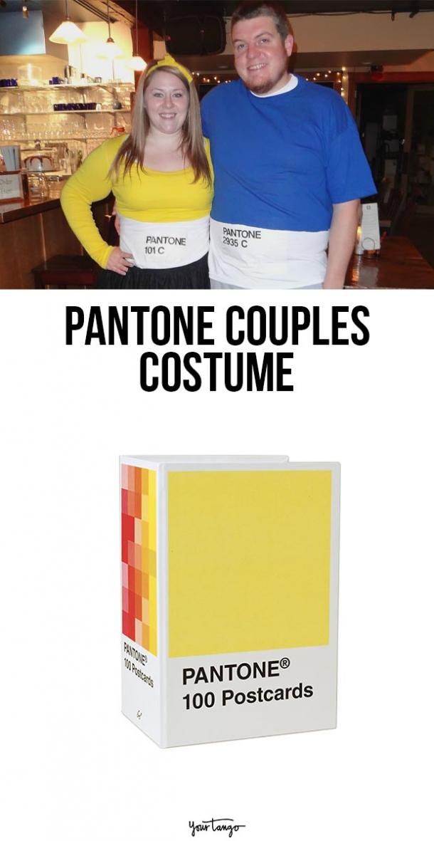 pantone couple costume last minute halloween costumes