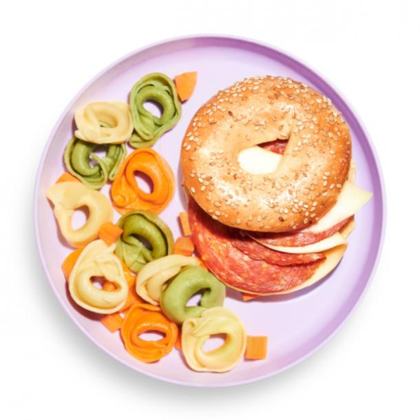 Yumble Pepperoni & Provolone Bagel Lunch