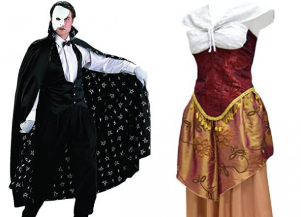 phantom of the opera couples costume