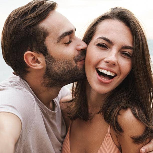 playful kisses types of kisses guys like