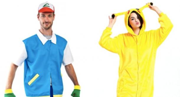 pikachu and ash pokemon couples costume