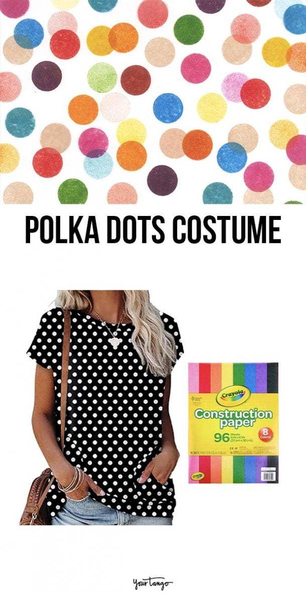 polka dots last minute halloween costumes