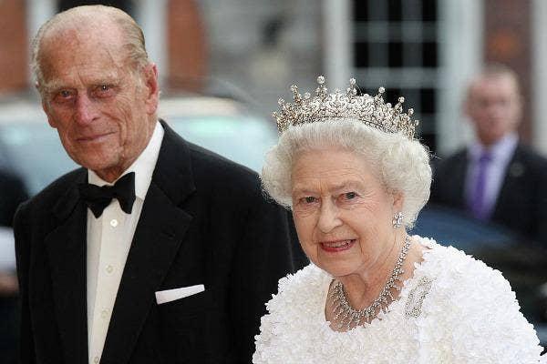 Queen Elizabeth II Prince Phillip