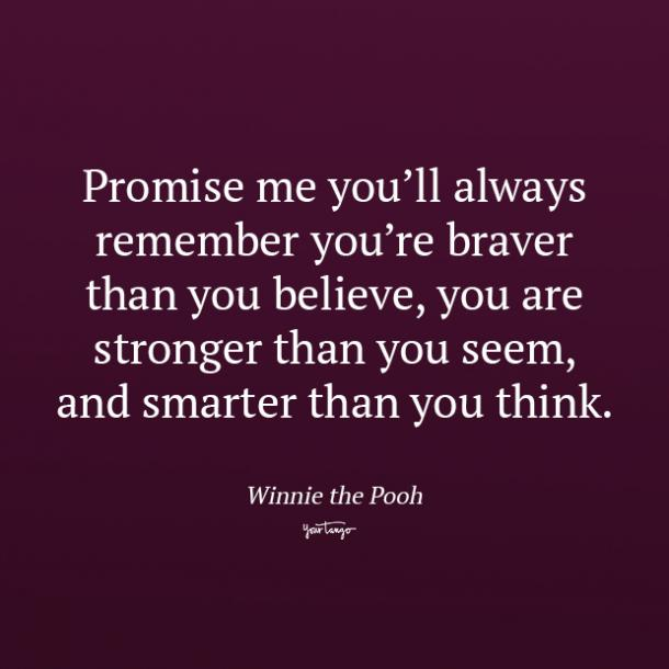 Winnie the Pooh promise quotes