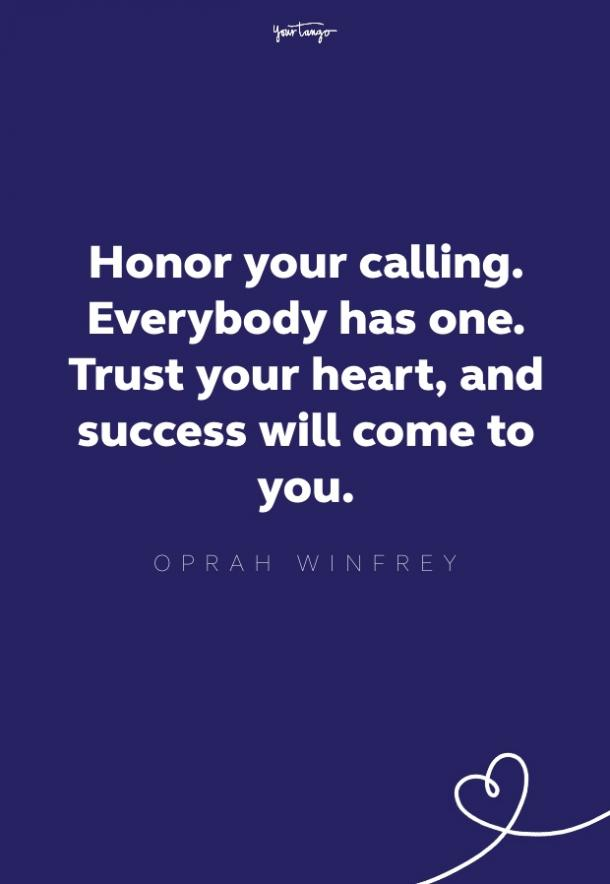 oprah quote about purpose