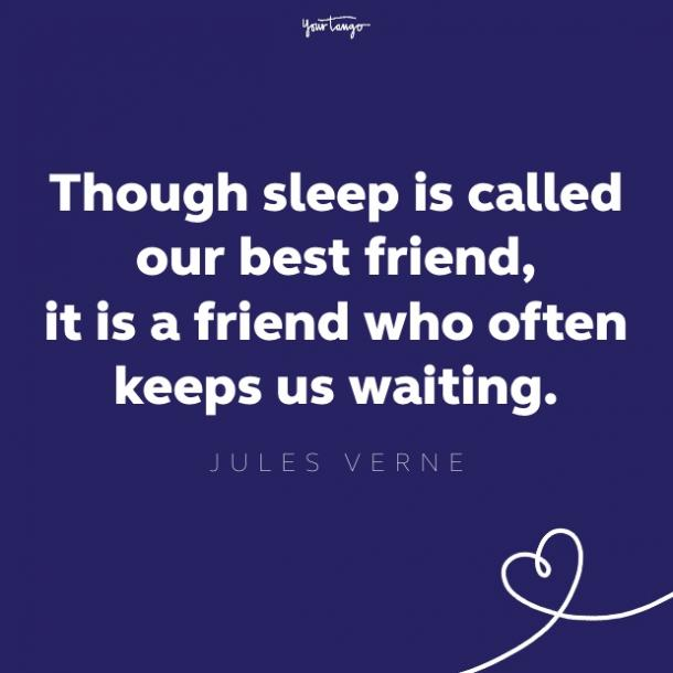jules verne quote about sleep