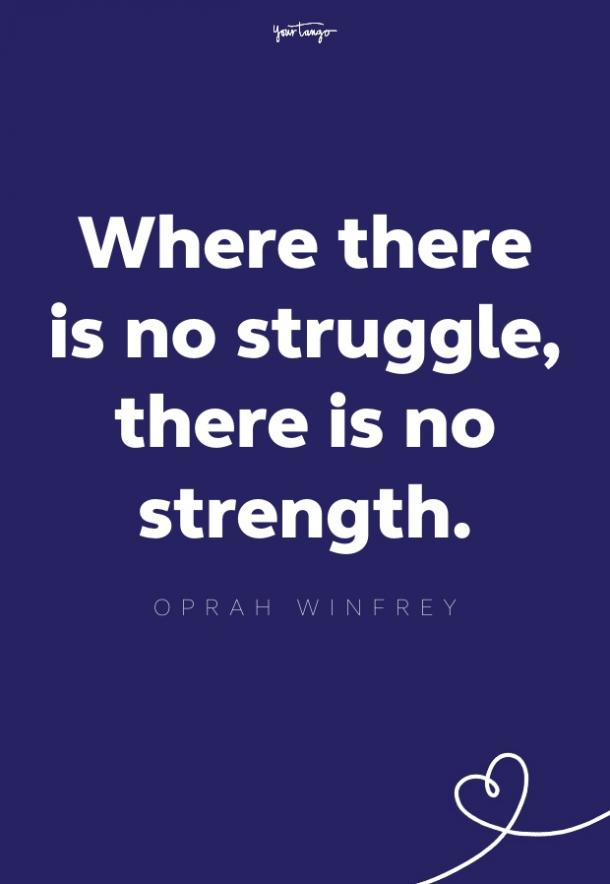oprah winfrey quote about struggle