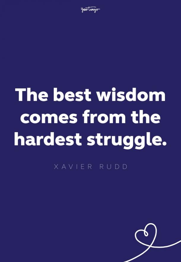 xavier rudd quote about struggle