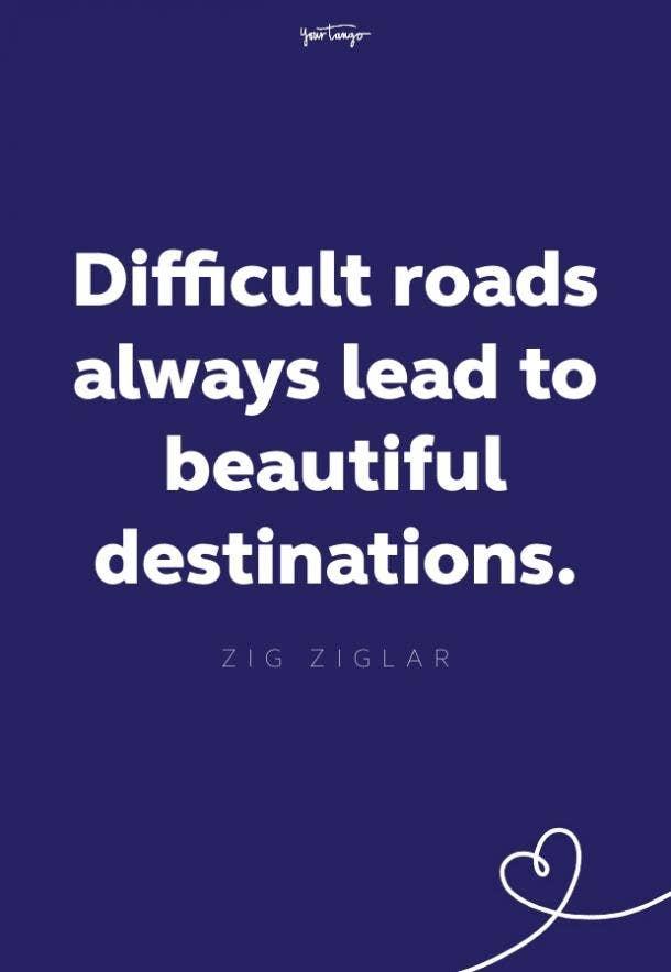 zig ziglar quote about struggle