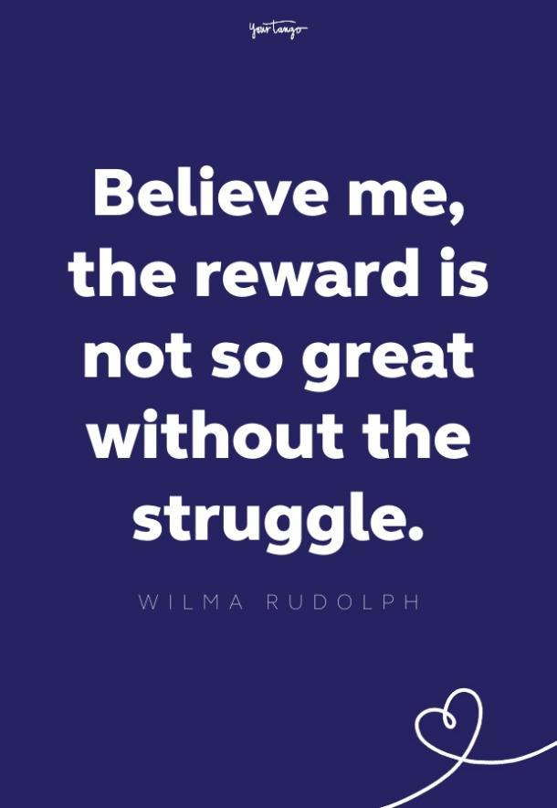 wilma rudolph quote about struggle