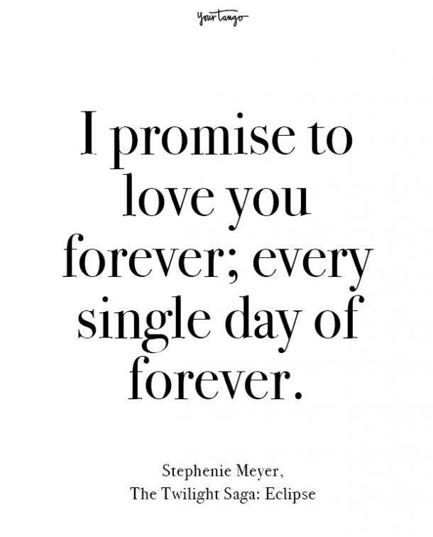 stephenie meyer beginning love quotes