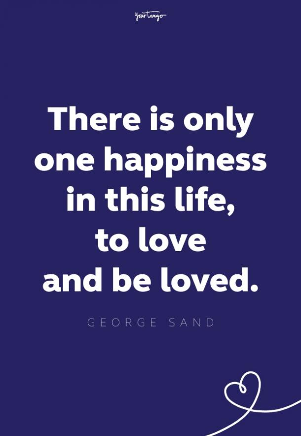 george sand quote for brides