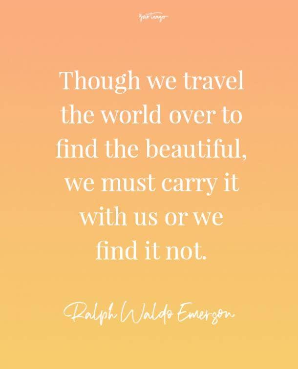 ralph waldo emerson feeling beautiful quotes