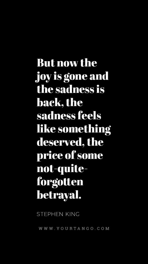quotes about being unhappy