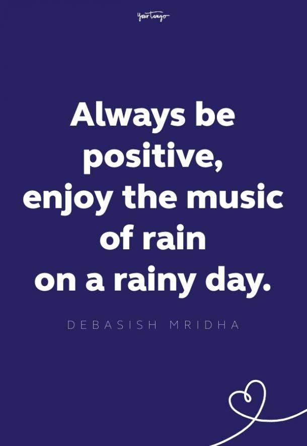 debasish mridha rainy day quote