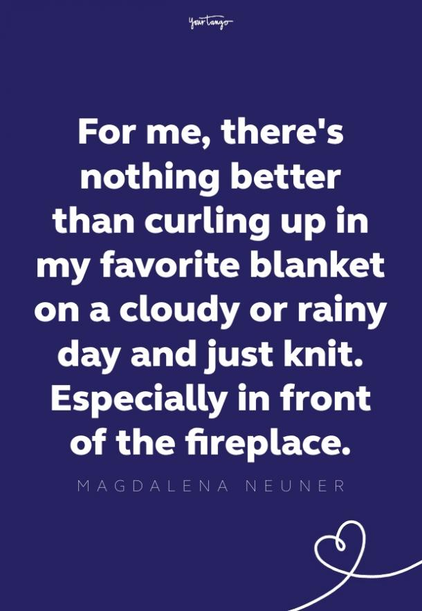 magdalena neuner rainy day quote