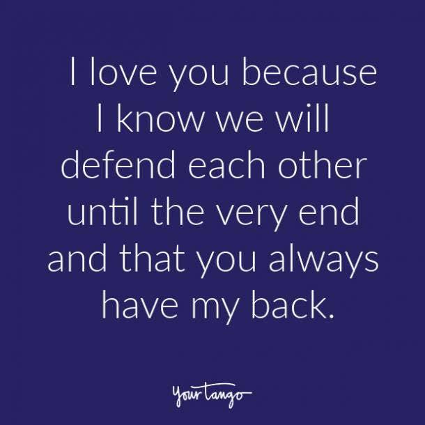 reasons why I love you