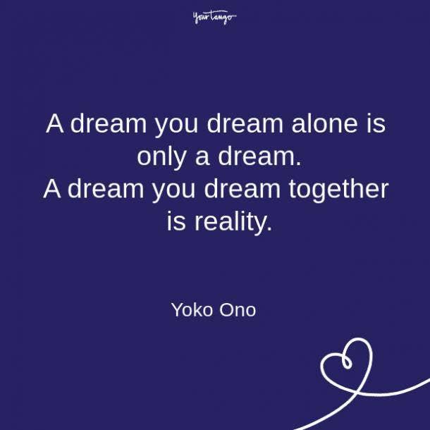 Yoko Ono relationship quote