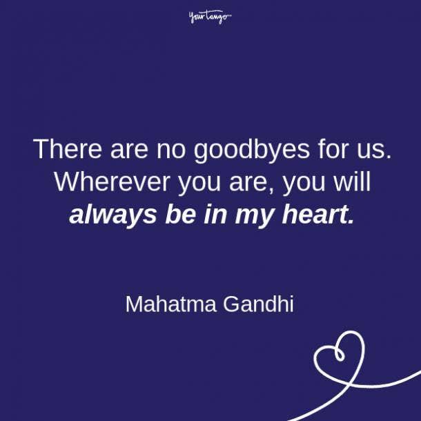 Mahatma Gandhi relationship quote