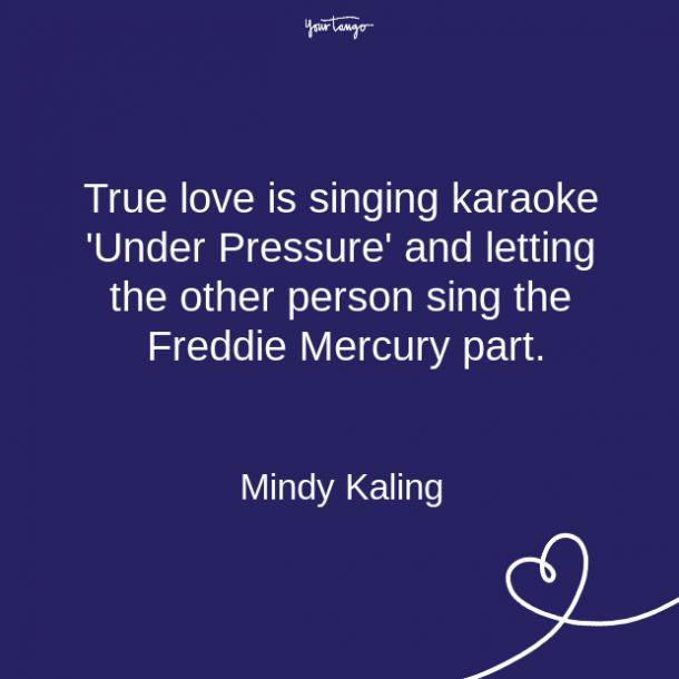 Mindy Kaling relationship quote