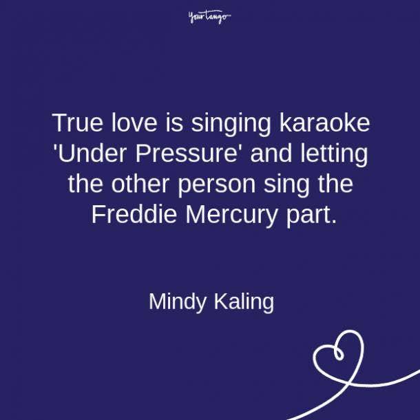 Mindy Kaling relationship quote