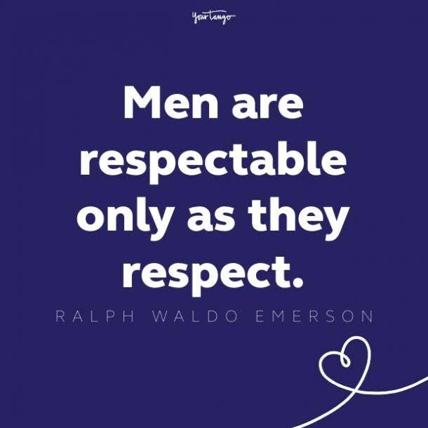 ralph waldo emerson respect quote